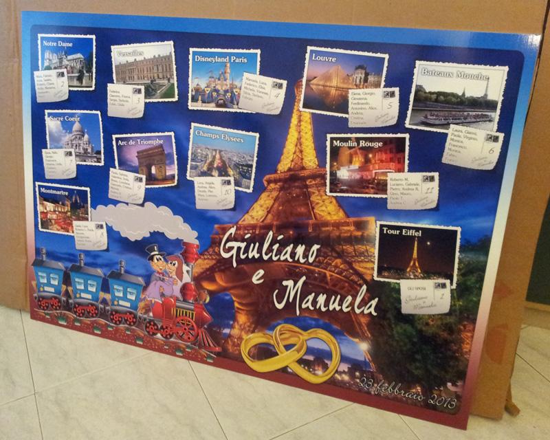 Tableau Matrimoniale Parigi